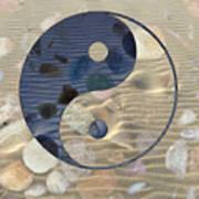 Yin Yang Harmony Art Print