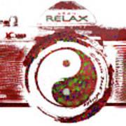 Yin Yang Photo Can Art Print
