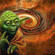 Yoda-no Fear Art Print