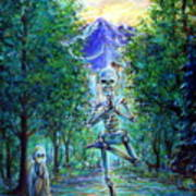 Yoga Tree Art Print