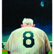 Yogi Bids Farewell Art Print