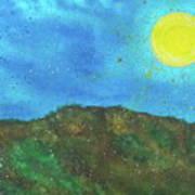 Yokun Ridge Art Print