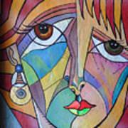 Yondra Art Print