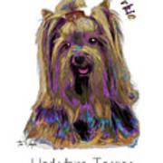 Yorkshire Terrier Pop Art Art Print