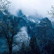 Yosemite Clouds I Art Print
