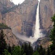 Yosemite Falls Vertical Art Print