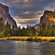 Yosemite- Gates Of The Valley Art Print