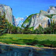 Yosemite National Park In The Spring Art Print