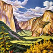 Yosemite National Park Vintage Poster Art Print