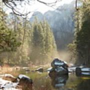 Yosemite Spring Art Print
