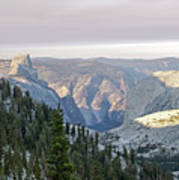Yosemite Sunrise II Art Print