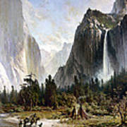 Yosemite Valley, C1860 Art Print