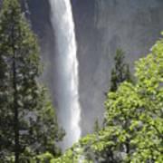 Yosemite Waterfall 2 Art Print