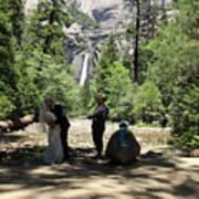 Yosemite Wedding  Art Print