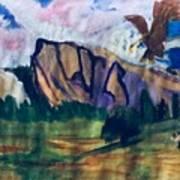 Yosemite Wildlife Art Print