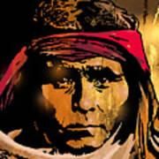 Young Apache Brave Art Print