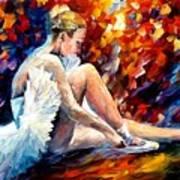 Young Ballerina Art Print
