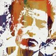 Young Bob Dylan Art Print