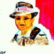 Young Bogart Private Eye Art Print by Richard W Linford