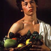 young boy Caravaggio Art Print
