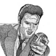 Young Elvis Art Print