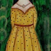Young Frida Kahlo Series 1 Art Print
