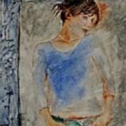 Young Girl 451120 Art Print