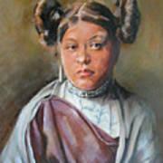 Young Hopi Girl Art Print