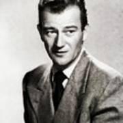 Young John Wayne, Hollywood Legend Art Print