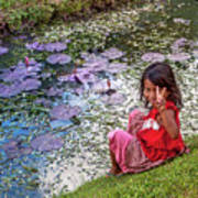 Young Khmer Girl - Cambodia Art Print