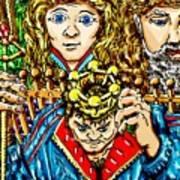 Young Kings Decision Art Print