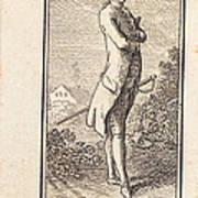 Young Man Bareheaded, With Sword Art Print