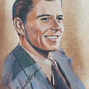 Young Ronald Reagan Art Print