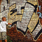 Young Vandal Too Art Print