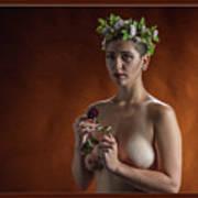 Young Woman Nude 1729.178 Art Print