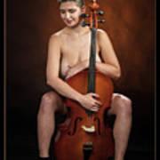 Young Woman Nude 1729.189 Art Print