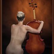 Young Woman Nude 1729.190 Art Print
