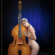 Young Woman Nude 1729.195 Art Print