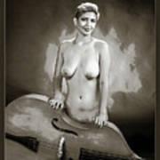 Young Woman Nude 1729.575 Art Print