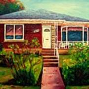 Your Home Commission Me Art Print