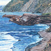Youthful Wonder - Where Waters Meet Earth Art Print