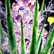 Yucca Flower Plant Southwestern Art Art Print