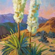 Yuccas Art Print