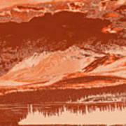 Yukon Mountain Range 5 Art Print