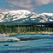 Yukon River Art Print
