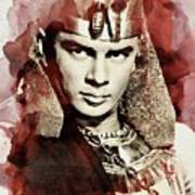 Yul Brynner, Vintage Actor Art Print