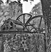 Yulee Sugar Mill Ruins Hrd Art Print