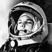 Yuri Gagarin 1934-1968., Russian Art Print by Everett