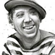 Yuriy Nikulin Portrait Art Print