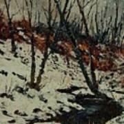 Ywoigne Snow Art Print